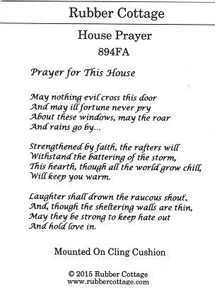 HOUSE PRAYER