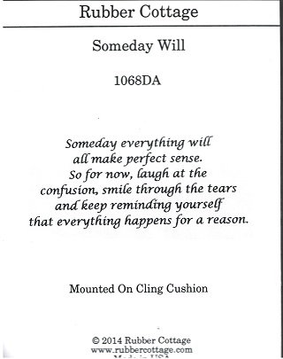 SOMEDAY WILL
