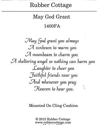 MAY GOD GRANT