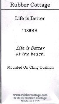 LIFE IS BETTER   ( BEACH )