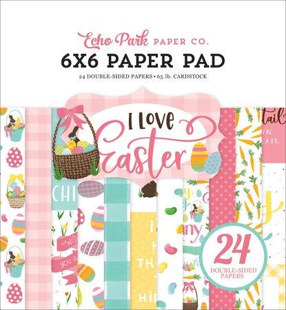I LOVE EASTER 6X6 PAPER PAD LEA205023