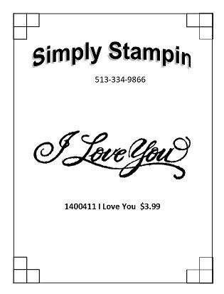 1400411 I Love You