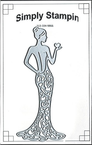 2020206    LADY SILHOUETTE  BACK