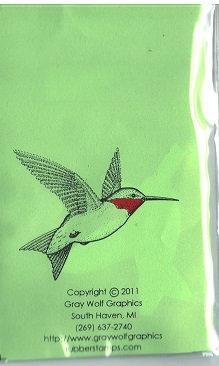 BIR5012  HUMMING BIRD