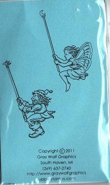 RIDE GNOME  & FAIRY   ELF5005  06