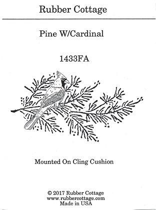 PINE W/CARDINAL