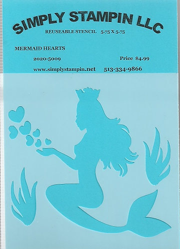 MERMAID HEARTS   2020-5009