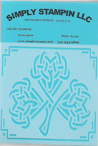 CELTIC FLOWER   2020-5026