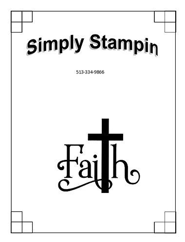 1901501 FAITH/CROSS