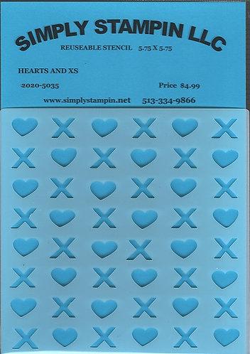 HEARTS & Xs  2020-5035