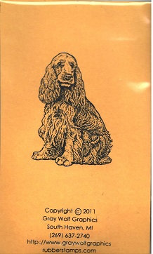 COCKER SPANIEL   ANL1048