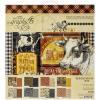 GRAPHIC 45 FARMHOUSE 8X8 PAPER PAD