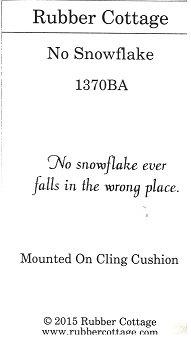 NO SNOWFLAKE