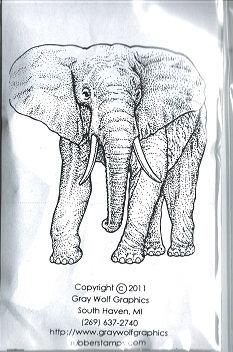 AFRICAN   BULL ELEPHANT  ANL1098