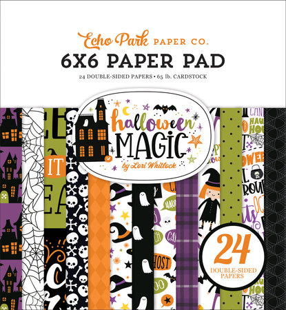 Halloween Magic 6x6Paper Pad