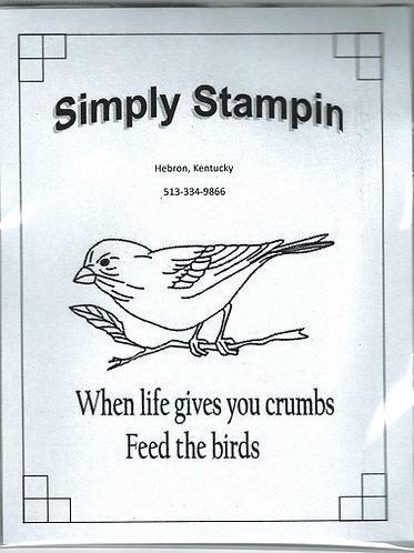 1800903 FEED THE BIRDS