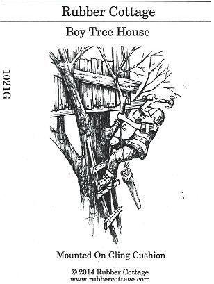 BOY TREE HOUSE