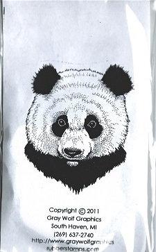 PANDA  PORTRAIT  ANL1070