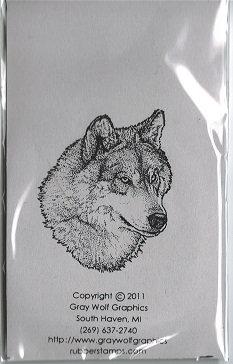 WOLF PORTRAIT   ANL1040