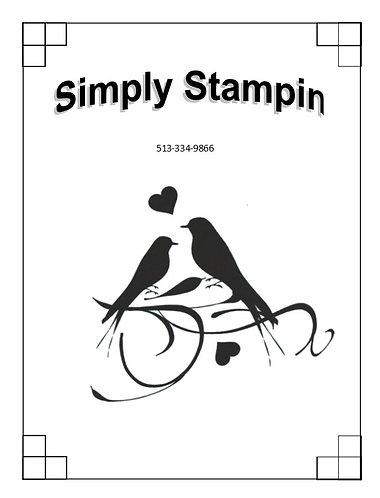 1800905 SILHOUETTE LOVE BIRDS