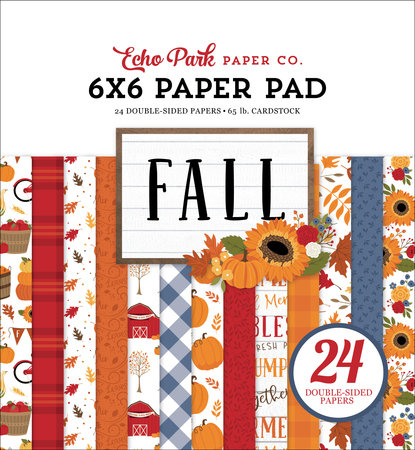 Fall 6x6  Paper Pad