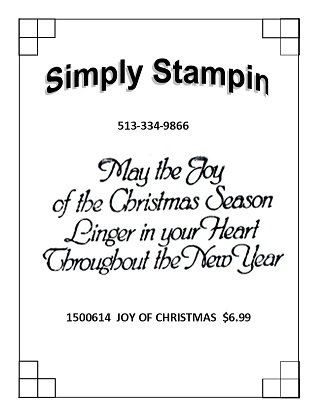 1500614  JOY OF CHRISTMAS
