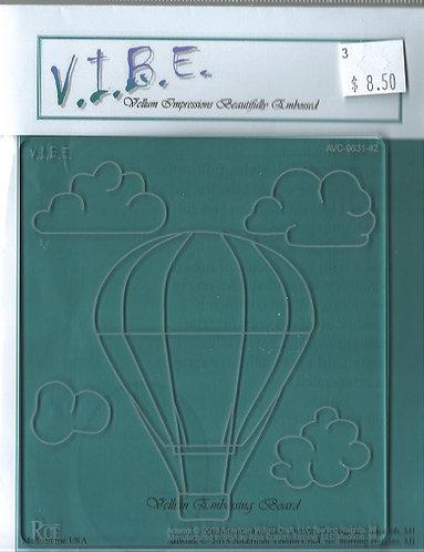 AVC-9631-42  HOT AIR BALLOON