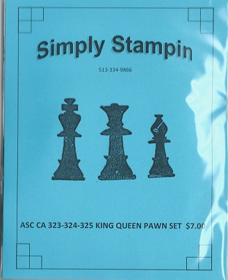 KING QUEEN PAWN SET