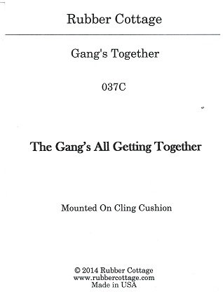 GANGS ALL GETTING TOGETHER