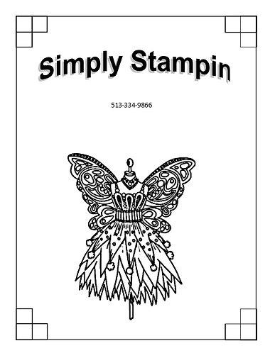 1901502 BUTTERFLY DRESS FORM