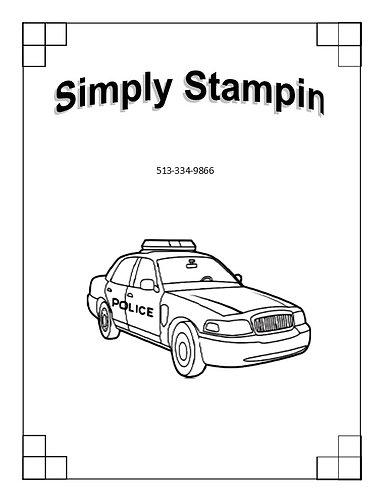 1800403 POLICE CAR