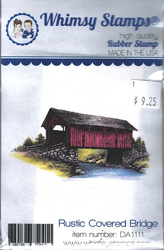 RUSTIC COVERED BRIDGE