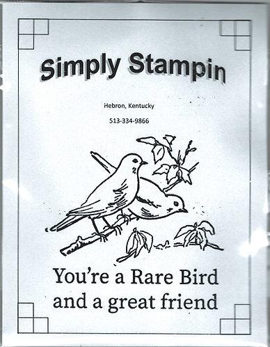 1800901 RARE BIRD