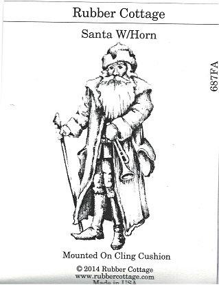 SANTA W/HORN