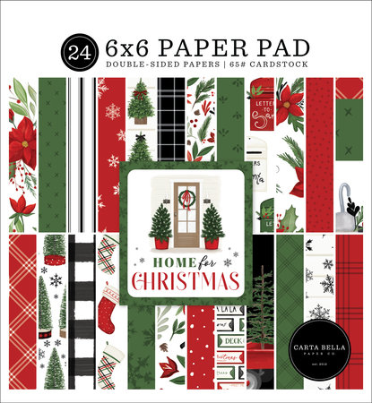 Home For Christmas 6x6 Paper Pad