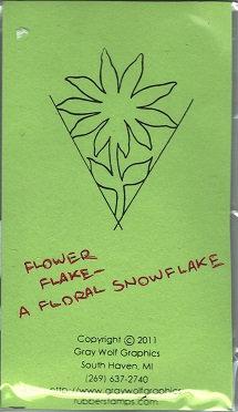 FLOWER FLAKE   FL3003