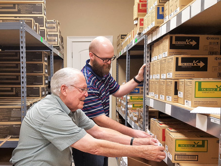 Inventory Department Expanding