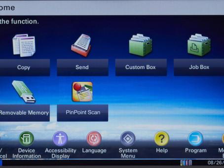 Copystar Control Panel Simulator