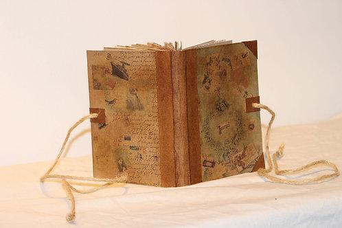 Travel Handmade Vintage Design Journal Scrapbook