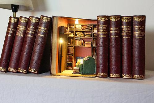 Booknook Insert Booknook Diorama Bookshelf Art Library Room
