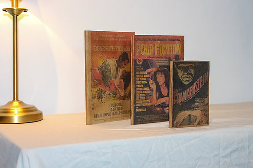 Movie Posters Vintage Design Journal Set