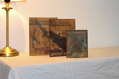 Commando Vintage Design Journal Set