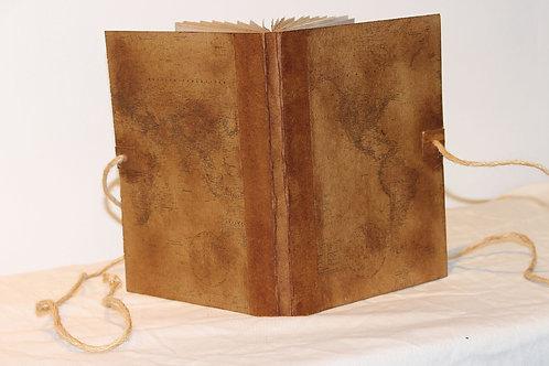 Handmade Vintage Design Folder Journal Scrapbook