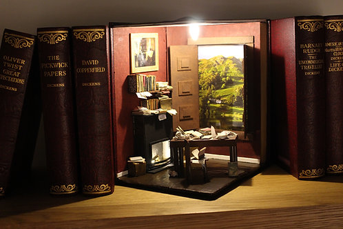 Bookshelves Art - Writer's Room