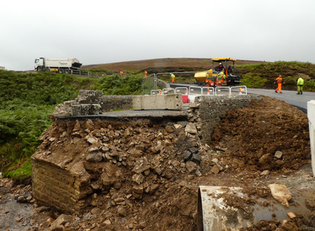 Post-flood Reconstruction In Swaledale