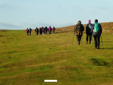 A Year In The Life Of The Reeth Walking Group