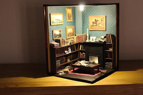 Booknook Insert Booknook Diorama Bookshelf Reading Room