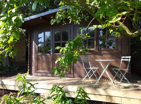 The Log Cabin At Crackpot Cottage