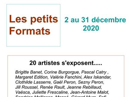 Petits Formats - 2 au 31 décembre