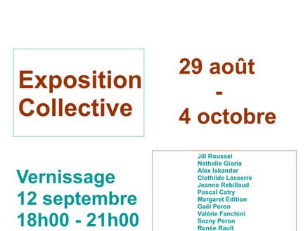 Exposition Collective ! 28 août - 4 oct
